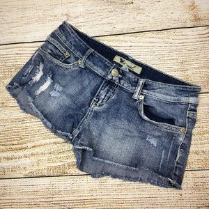 Women's Wet Seal Distressed Jean Shorts Sz 7